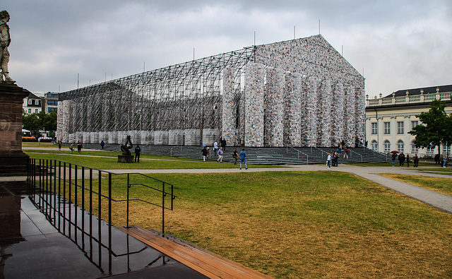 Parthenon of Books - Documenta, Kassel