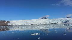 "Svalbard, The Nordenskiold Glacier 78°40'04"" of Northern Latitude"