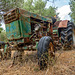 the forgotten green tractor