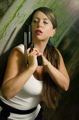 Paloma as Lara Croft