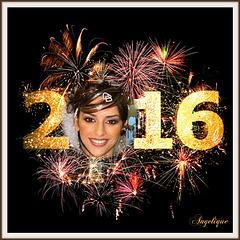 2016 est déjà là ! Tous mes vœux de bonheur, de réussite, d'amour et d'excellente santé pour vous et l'ensemble de votre famille.