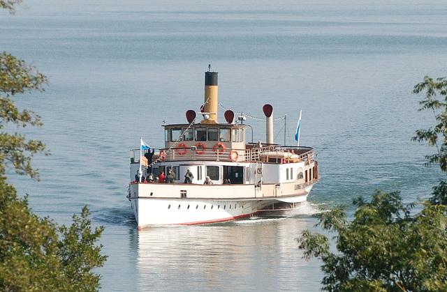 Chiemsee-Dampfer