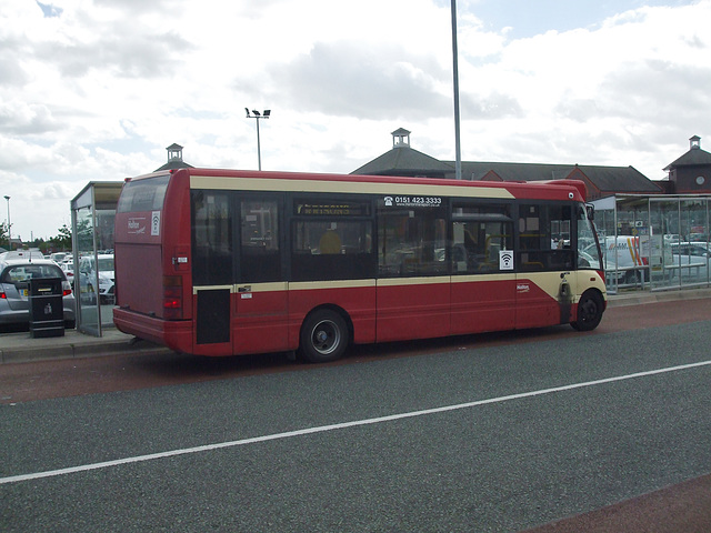 DSCF7687 Halton Borough Transport 57 (LIG 1623) (V272 HEC) in Widnes - 15 Jun 2017
