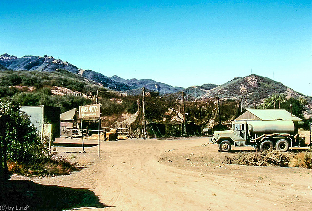 M*A*S*H 4077 - The Set in Malibu Canyon State Park  1980 (255°)