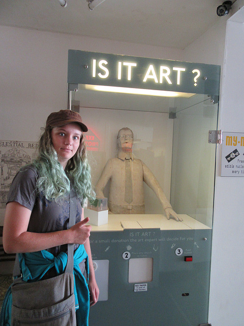 Is It Art? at Novelty Automation