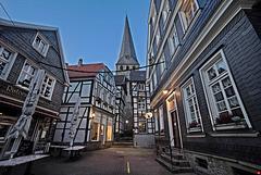 In der Altstadt von Hattingen (3xPiP)