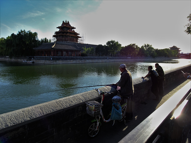 Forbidden City moat_3