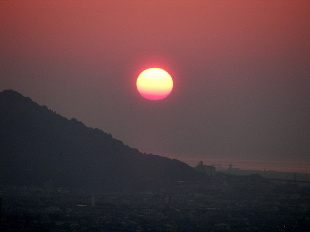 Sunset, Japan