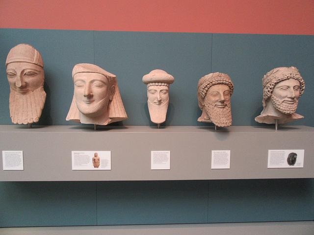 British Museum Heads