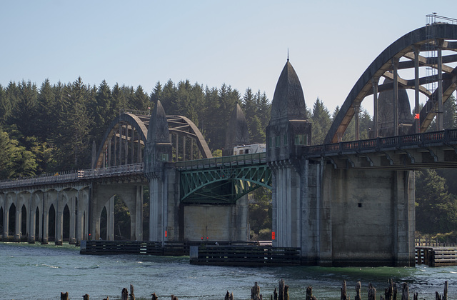 Florence OR Siuslaw River Bridge (#1132)