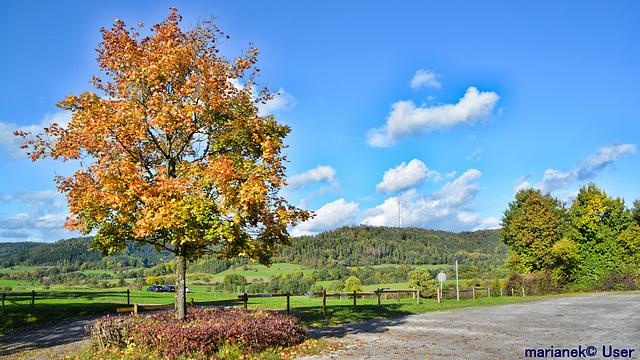 Beautiful, sunny October day