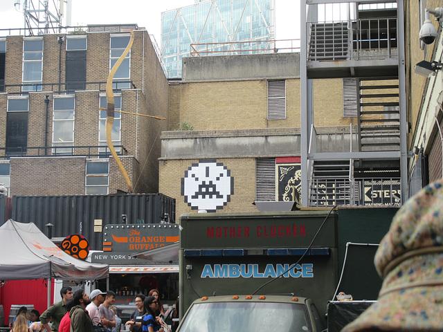 Space Invader in London (Brick Lane)