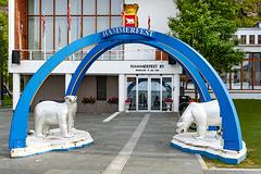 The Ice Sea Portal of Hammerfest