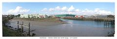 Newhaven - panorama of Denton Island & North Quay 29 9 2020