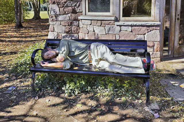 """Catnap"" – Grounds for Sculpture, Hamilton Township, Trenton, New Jersey"