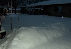24 hours of snow