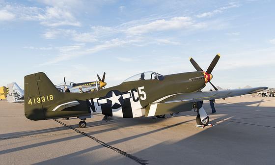 North American P-51 Mustang N357FG