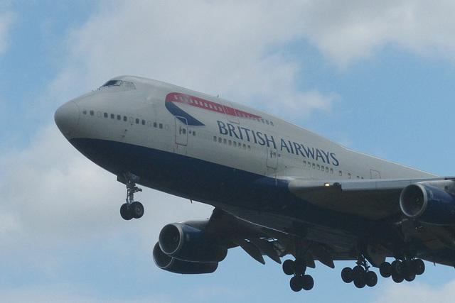 G-BYGF approaching Heathrow - 8 July 2017