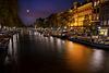 Dusk on the Singel Canal