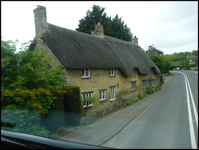 cottages at Long Compton
