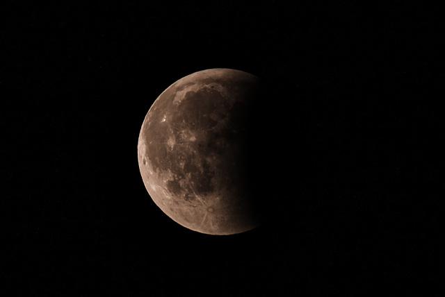 Mondfinsternis (Halbschatten) 20180727