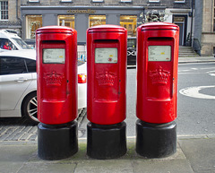 Post Boxes, Frederick Street Post Office, Edinburgh