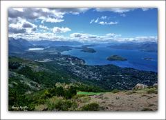 Bariloche desde el cerro Otto