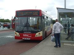 DSCF7800 Halton Borough Transport 7 (AJ58 PZL) in Widnes - 16 Jun 2017