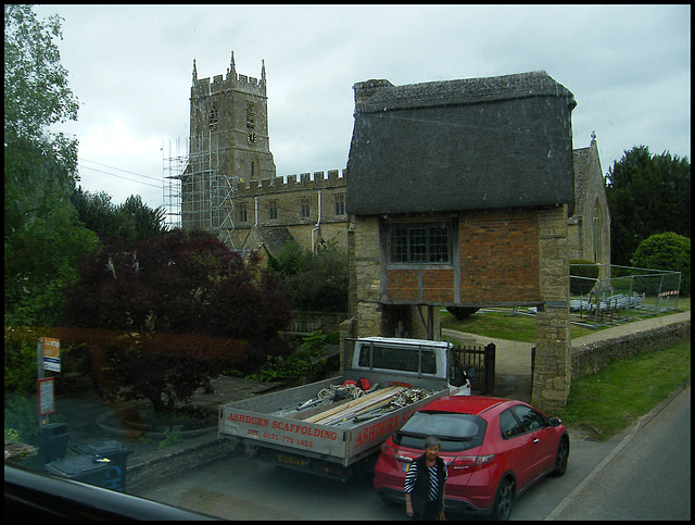 Long Compton church repairs