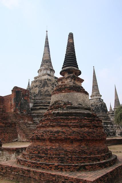 Wat Phra Si Sanphet - Ayutthaya, Tajlandia