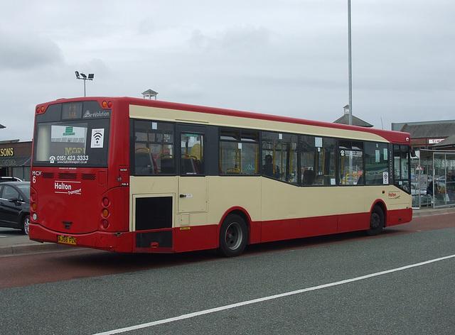 DSCF7794 Halton Borough Transport 4 (AJ58 PZK) in Widnes - 16 Jun 2017