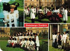Trachten im Raume Bückeburg - Minden
