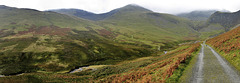 The track up to Force Crag, Coledale - Cumbria