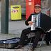 The street musician (Explored)