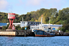 Hafeneinfahrt Sassnitz