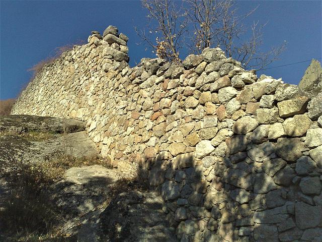 Convento de San Antonio, monastery wall