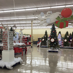 Xmas '15 at the Meijer store on Lake Lansing Road in East Lansing: What it looked like.
