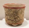 Mayan Vessel with a Mythological Scene in the Metropolitan Museum of Art, March 2018