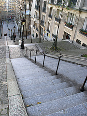 Montmartre ŝtuparo
