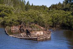 Moruya granite barge
