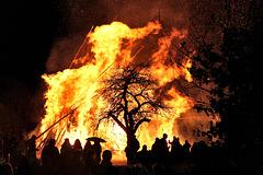 Winter Ade - mit einem Funkenfeuer