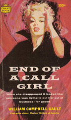 William Campbell Gault - End of a Call Girl