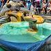 Roma : Piazza di Spagna - la fontana della Barcaccia