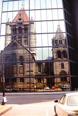 Trinity Church in Hankock Tower