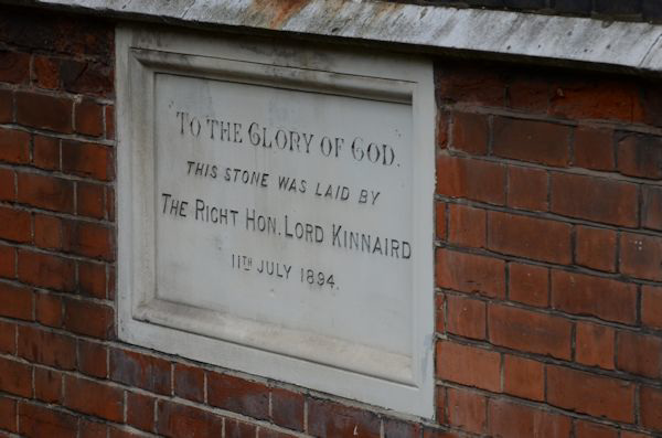 St Andrews foundation stone