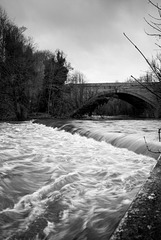 Jackson's Weir in Spate