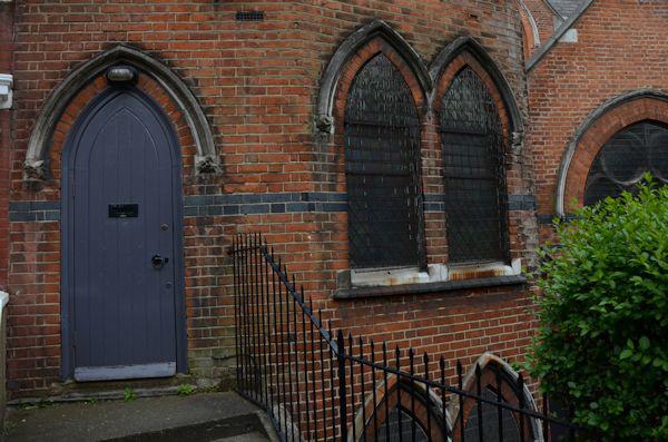 Blue door, St Andrews