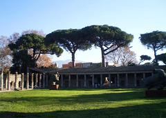 Gladiators' barracks.