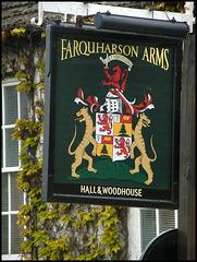 Farquharson Arms sign
