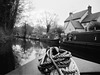 Narrowboat on the canal